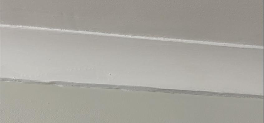 un-straight paint lines DIY